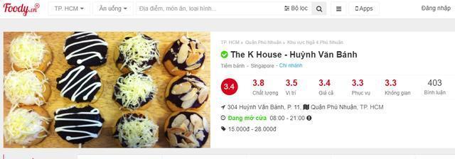 Không hoàn 790K cho shipper, tiệm bánh TPHCM nhận kết đắng: Cộng đồng mạng đồng loạt đánh giá 1 sao trên Foody và Google 4