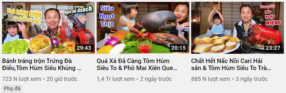 Liên tục làm video ăn tôm hùm, tôm càng, hải sản đắt đỏ, Quỳnh Trần JP khiến fan hâm mộ vừa thèm vừa ghen tị vì quá giàu có 6