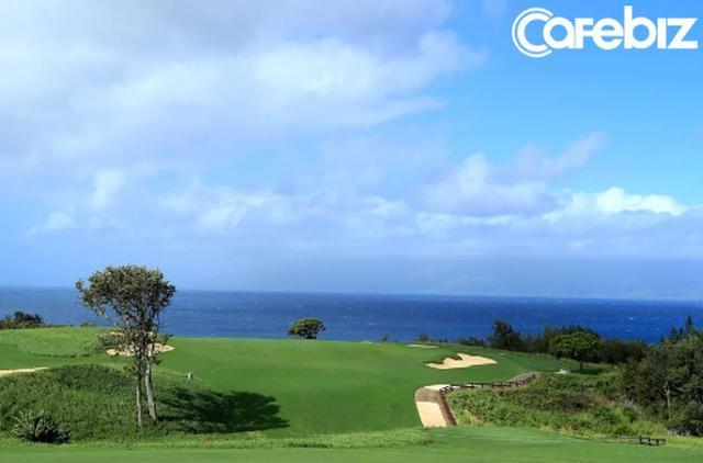 Sân golf ở Hawaii của ông Yanai.