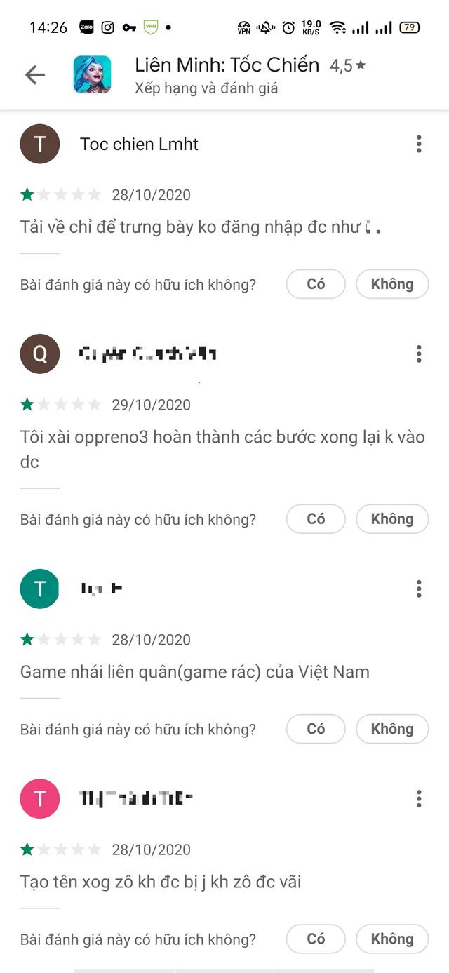 LMHT: Tốc Chiến ăn bão 1 sao của người Việt, đọc bình luận tục tĩu mới hiểu vì sao Việt Nam sẽ được chơi riêng 4