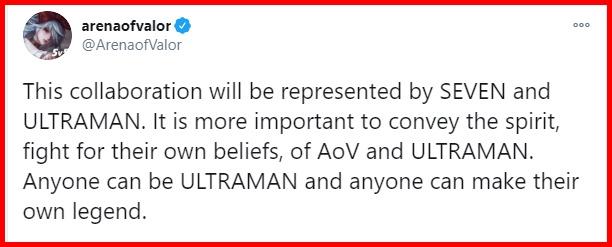 'Bất cứ ai cũng có thể là Ultraman...'