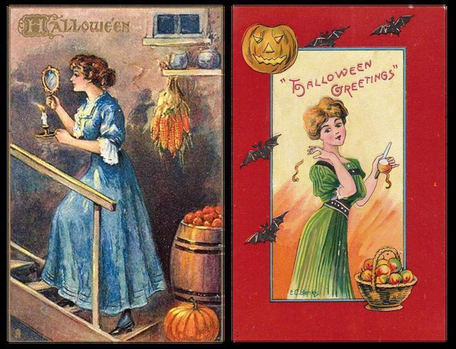 Nguồn gốc Halloween và những phong tục bị lãng quên: Soi gương lúc nửa đêm để thấy mặt chồng tương lai 12