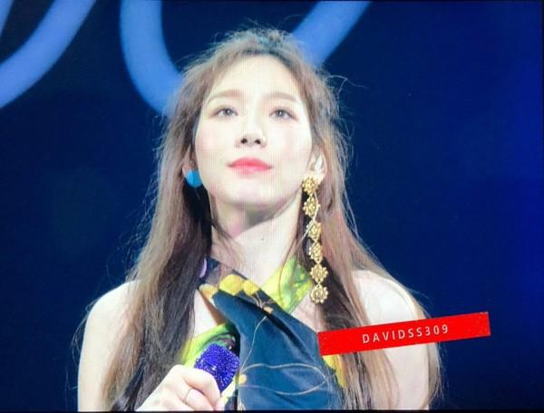 Hình ảnh Taeyeon trong concert 'S…one.