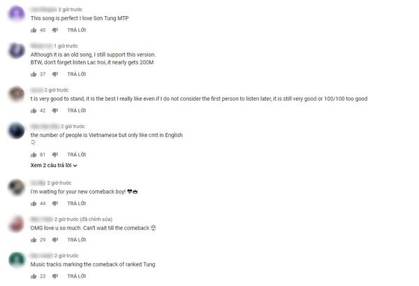 """Thậm chí có fan còn """"nhắc nhở"""" đừng vì sản phẩm mới mà quên 'cày'cho MV Lạc trôi sắp cán mốc 200 triệu view."""
