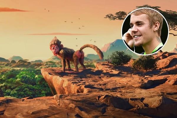 Justin Bieber là xuất hiện đầu tiên trong MV với vai khỉ đầu chó. Cũng nhờ sự góp mặt đáng yêu này của chàng trai mà sản phẩm có sức ảnh hưởng được lan truyền rộng rãi hơn.