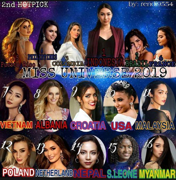 Hình ảnh Hoàng Thùy công phá trên một loạt bảng xếp hạng lớn nhỏ khác. Điều này chứng tỏ đại diện Việt Nam là nhan sắc có sức hút riêng tại Miss Universe 2019 và được cộng đồng fan sắc đẹp quốc tế yêu thích.