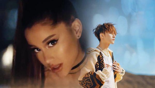 Ariana Grande mà kết hợp với Sơn Tùng thật thì chắc sẽ hot phải biết nhỉ?