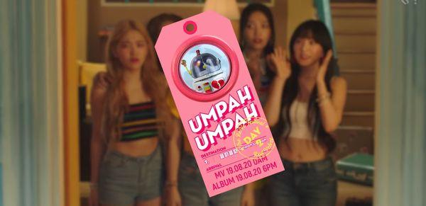 Red Velvet tung teaser cho MV Umpah Umpah với concept ngập tràn hơi thở mùa Hè.