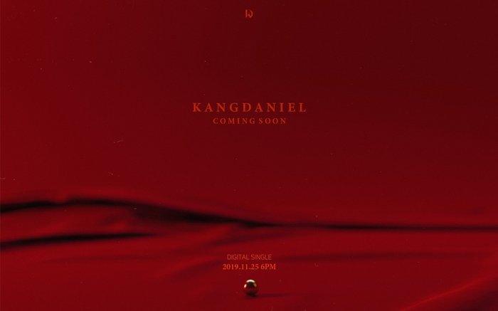 Poster sản phẩm mới của Kang Daniel.