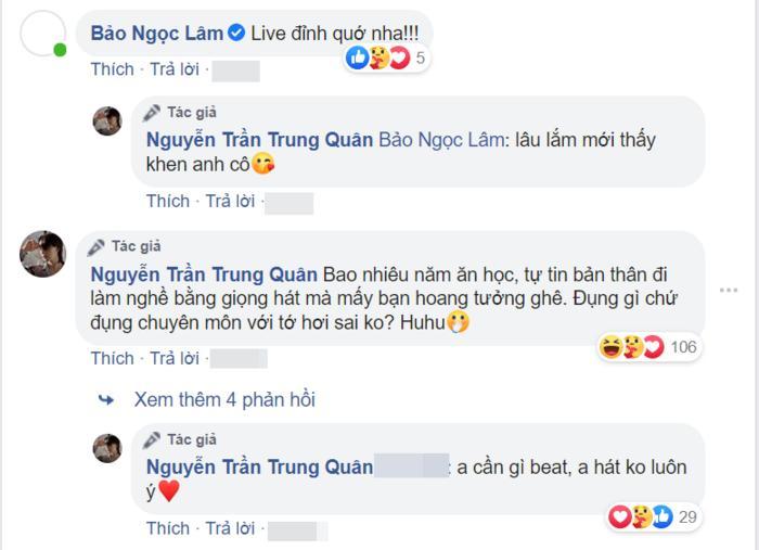 Nguyễn Trần Trung Quân gay gắt khi bị chê hát live kém: 'Đụng gì chứ đụng chuyên môn với tớ hơi sai không?' 2