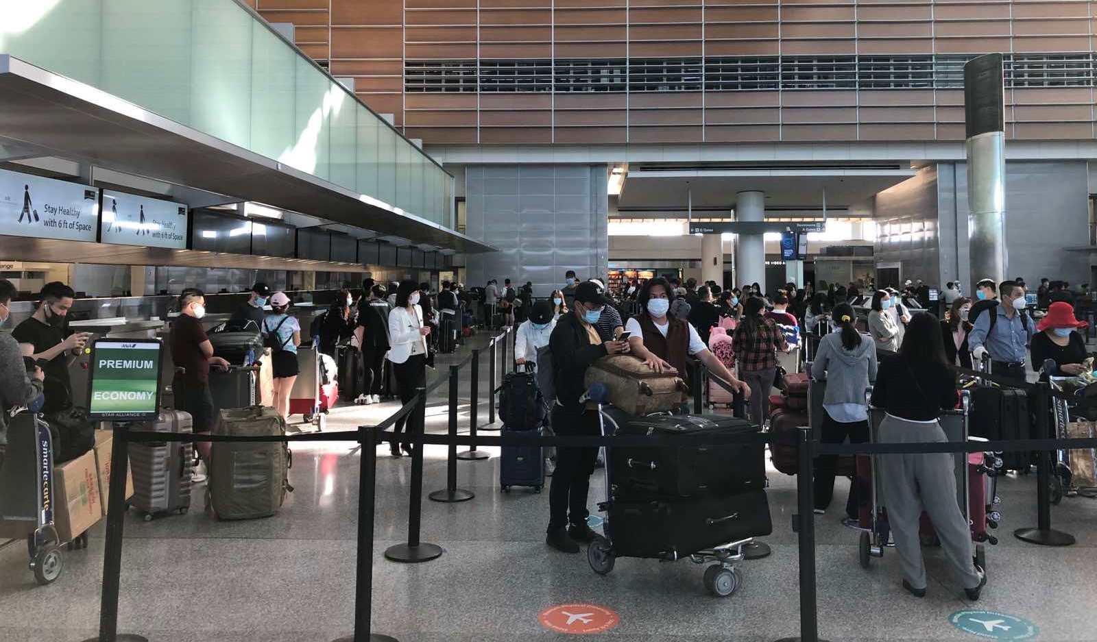 Dịch COVID-19: Hơn 350 công dân Việt Nam từ Mỹ, Nhật Bản về nước 0