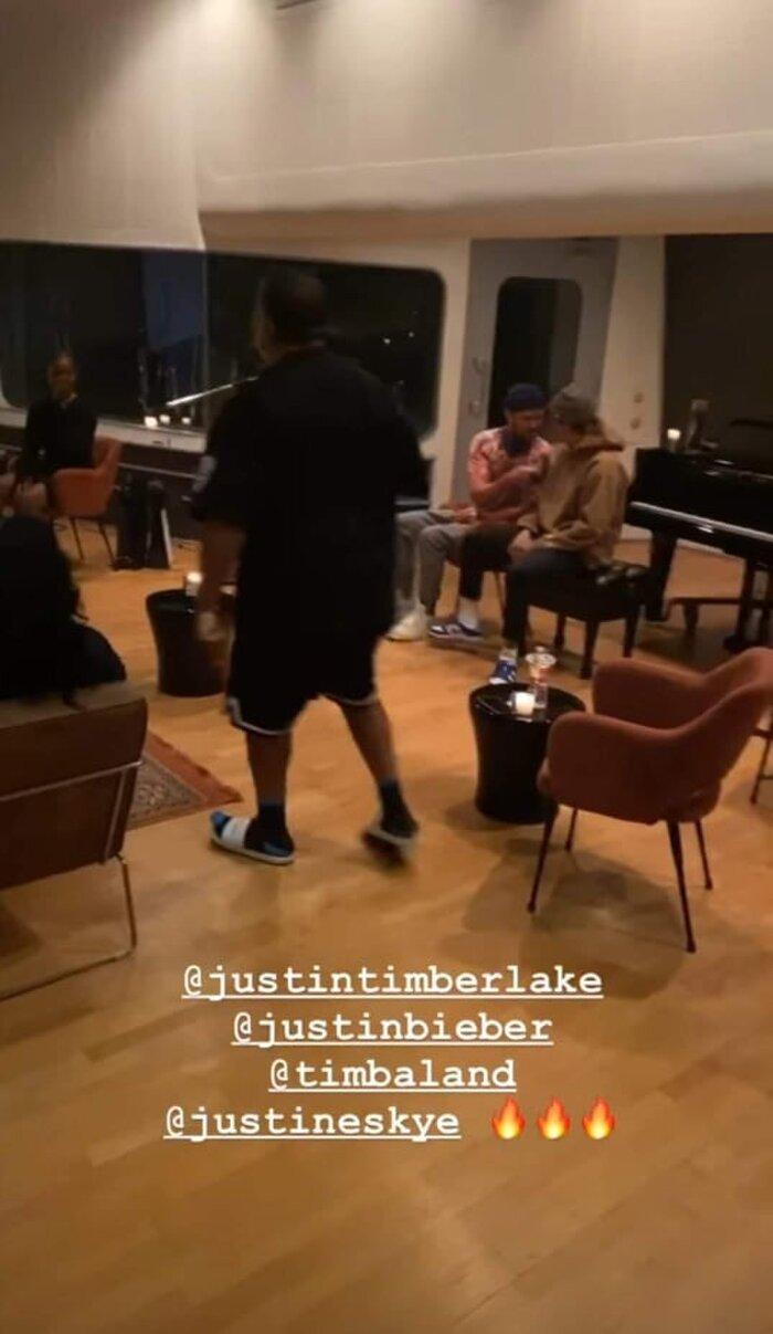 Siêu phẩm hợp tác tiếp theo: Khi 2 hoàng tử nhạc Pop Justin Timberlake cùng Justin Bieber góp giọng trong một bài 0
