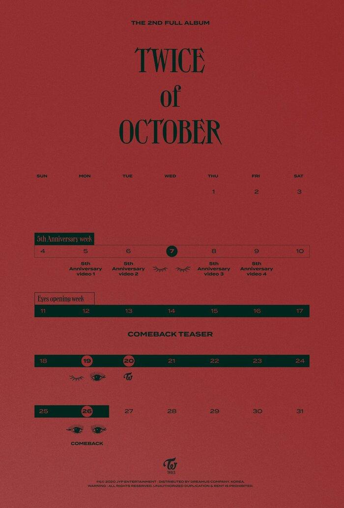 Không thể kém cạnh BlackPink, TWICE chính thức thông báo về full album ngay tháng 10 này! 1