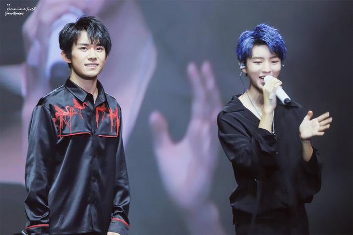 Hai thành viên TFBoys Vương Tuấn Khải và Dịch Dương Thiên Tỉ tranh giành vai diễn? 1