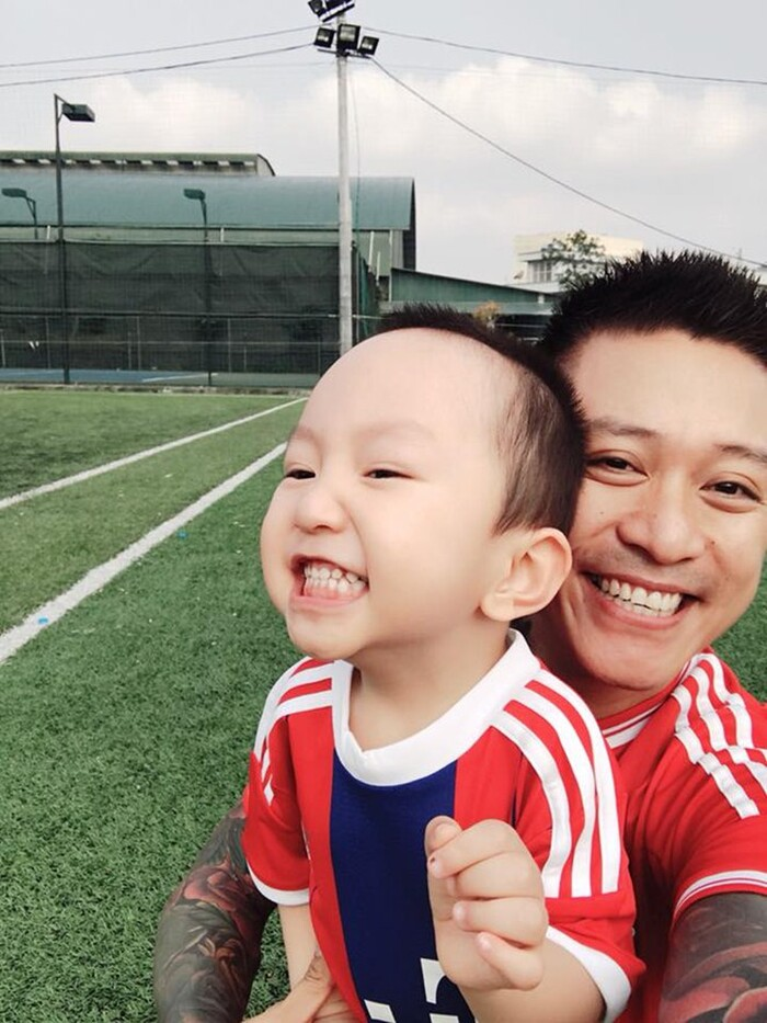 Tuấn Hưng viết tâm thư xúc động khi nhìn ra đam mê sân khấu của con trai Su Hào 0
