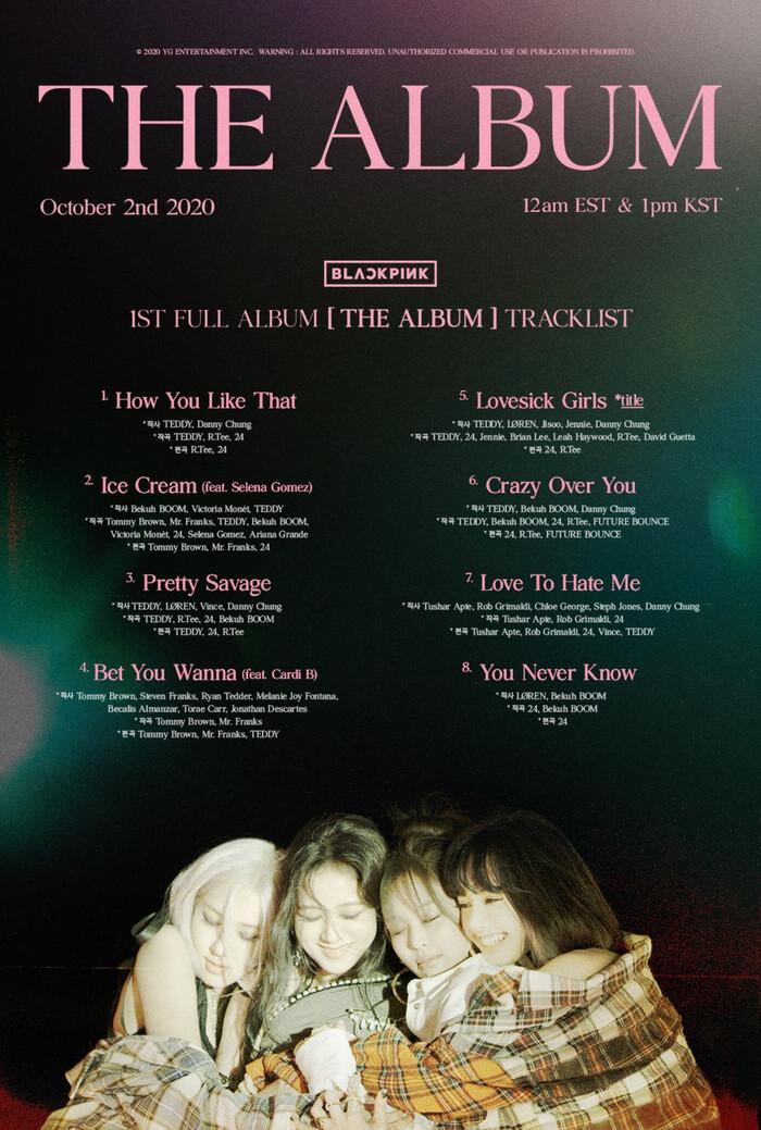 Black Pink lựa chọn ca khúc yêu thích nhất của mỗi thành viên trong 'The Album' 1