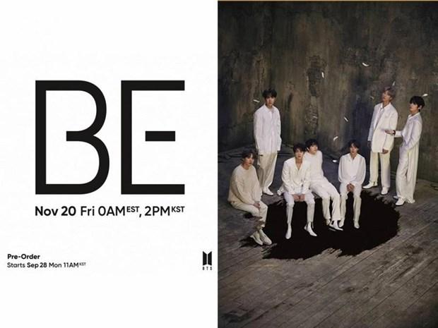 BE - album mới nhất của nhóm nhạc nam đình đám Hàn Quốc BTS. (Nguồn: gmanetwork.com)