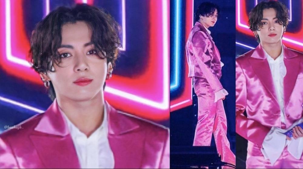 Mang danh 'anh áo vest hồng', Jungkook (BTS) thu về lượt xem fancam khủng 1
