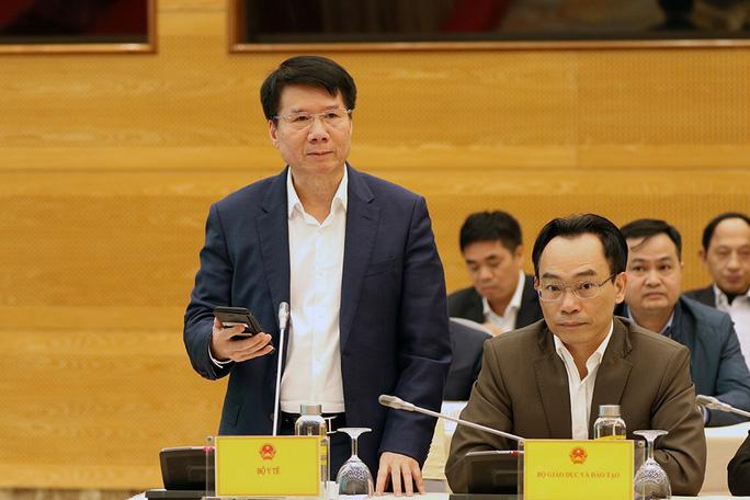 Thứ trưởng Bộ Y tế Trương Quốc Cường thông tin về diễn biến dịch Covid-19 tại TP HCM