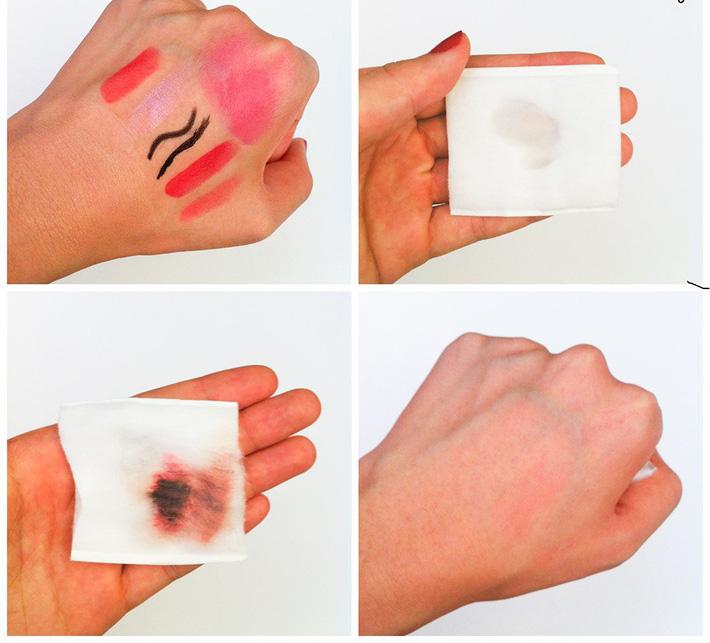 Sản phẩm ứng dụng công nghệ micellar với các ion nhẹ tạo thành các phân tử nhỏ hoạt động như nam châm hút mọi lớp trang điểm, bụi bẩn và bã nhờn tồn tại trên da.