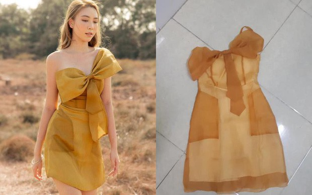 Mất 520k mua váy fake như chiếc giẻ lau, cô gái còn nghẹn lời hơn khi biết hàng thật có giá tận 3,7 triệu 0
