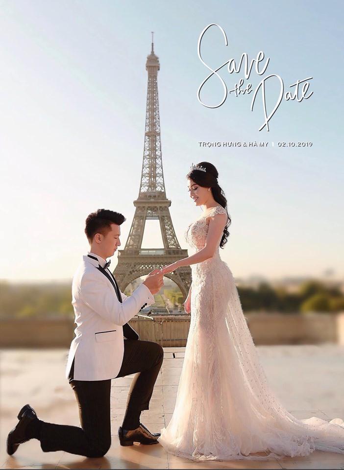 Hóa ra trước khi có màn cầu hôn lãng mạn ở Paris, nữ giảng viên Âu Hà My đã làm lễ dạm ngõ rình rang rồi 11