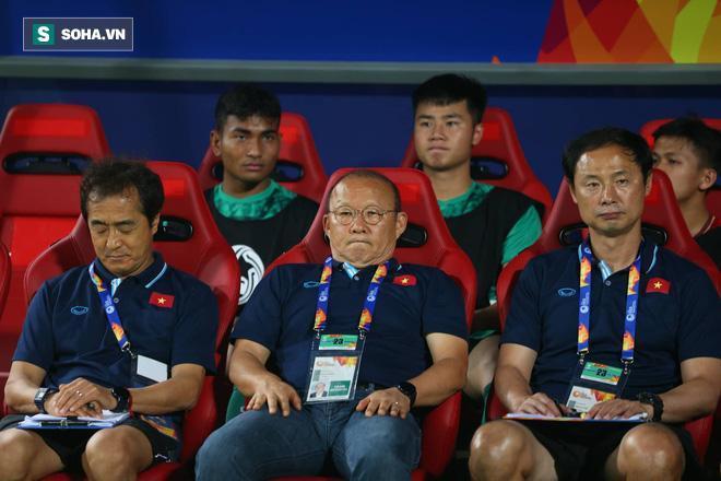 Chính bản thân HLV Park Hang-seo cũng chịu đá kích tâm lý sau thất bại của U23 Việt Nam.
