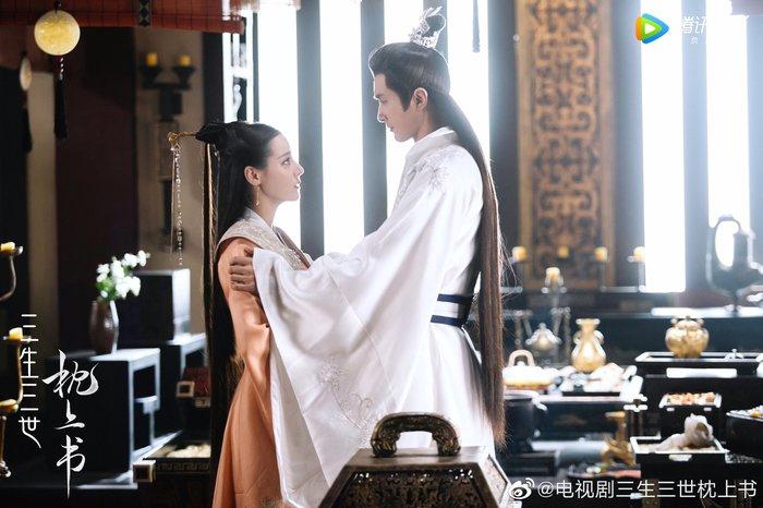 Đẹp xuất sắc trong 'Tam sinh tam thế chẩm thượng thư': Dương Mịch là chị, em là Nhiệt Ba! 9