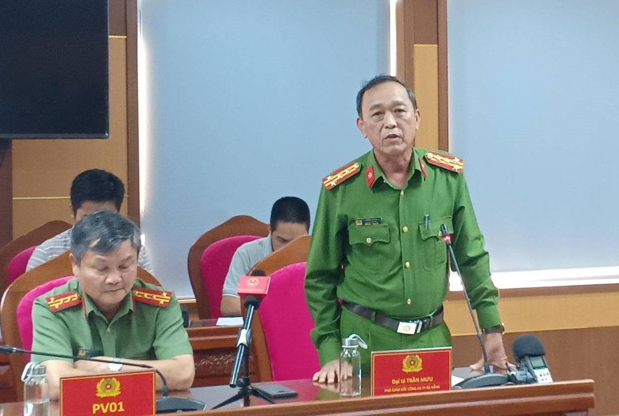 Đại tá Trần Mưu kể lại hành trình phá án.