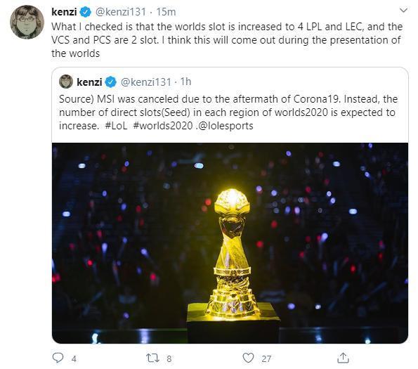 NÓNG - Riot Games thông báo: Giải đấu MSI - Mid Season Invitational 2020 chính thức bị hủy bỏ 1