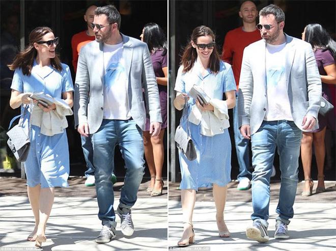 Ben Affleck và Jennifer Garner sánh đôi bên nhau 4 ngày sau khi chính thức ly hôn.