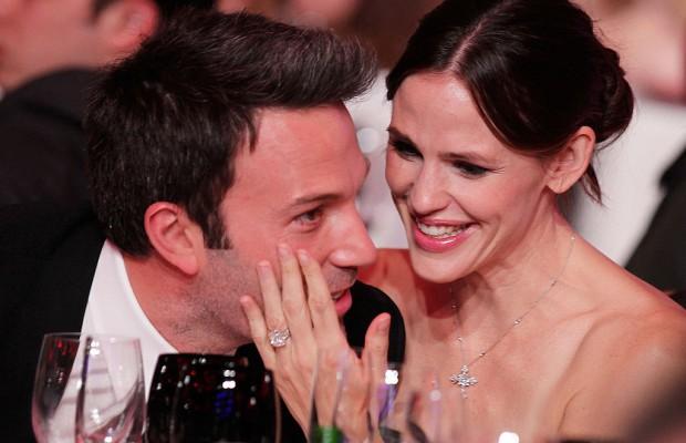 Ben Affleck và Jennifer Garner thời còn mặn nồng.