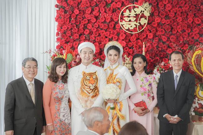 Làm dâu nhà đại gia, loạt mỹ nhân Việt đình đám được mẹ chồng đối xử thế nào? 4