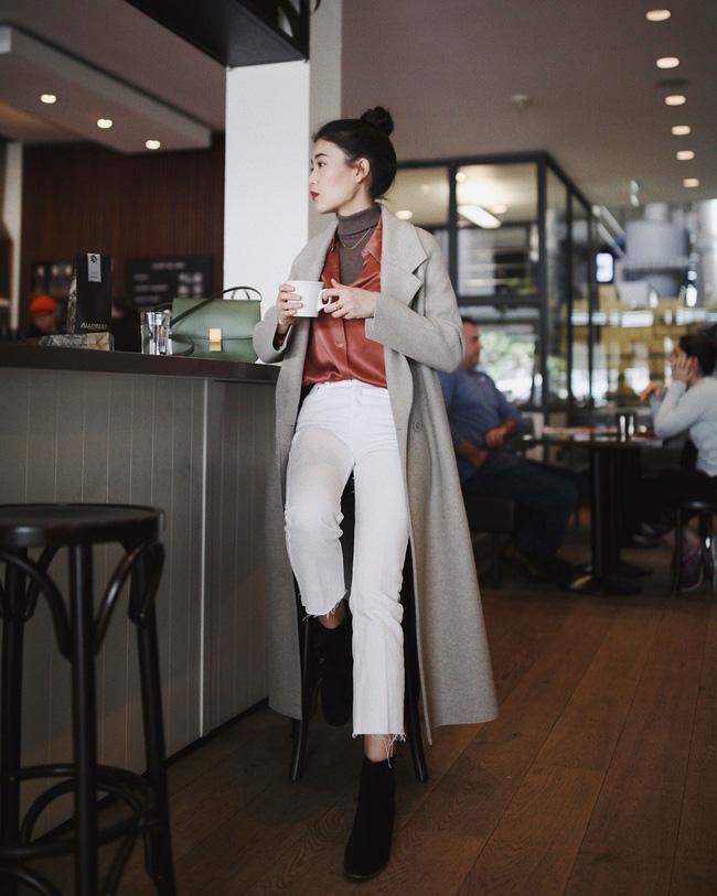 Ngắm 12 set đồ sau, các nàng sẽ nhận ra quần jeans + boots chính là cặp đôi giúp vẻ ngoài đạt 100% sành điệu 6
