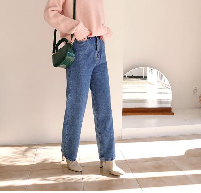 Ngắm 12 set đồ sau, các nàng sẽ nhận ra quần jeans + boots chính là cặp đôi giúp vẻ ngoài đạt 100% sành điệu 10