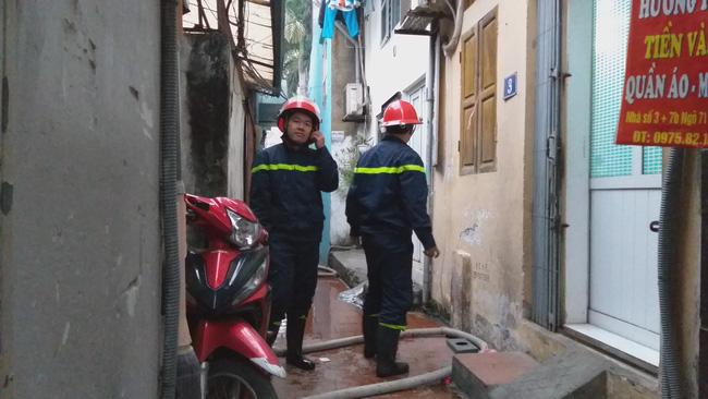 Hà Nội: Lửa thiêu rụi ngôi nhà trong ngõ lúc gia chủ đi vắng ngày cuối năm 4