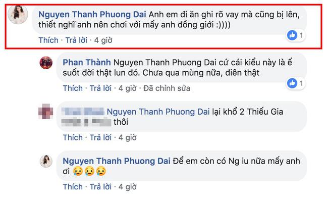Phương Đài khuyên Phan Thành nên chơi với người đồng giới.