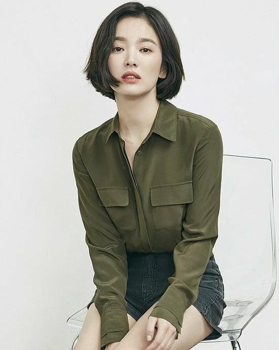 Tìm kiếm cho mình một kiểu tóc ngắn hack tuổi, bạn không thể bỏ qua 5 gợi ý từ các mỹ nhân xứ Hàn 0