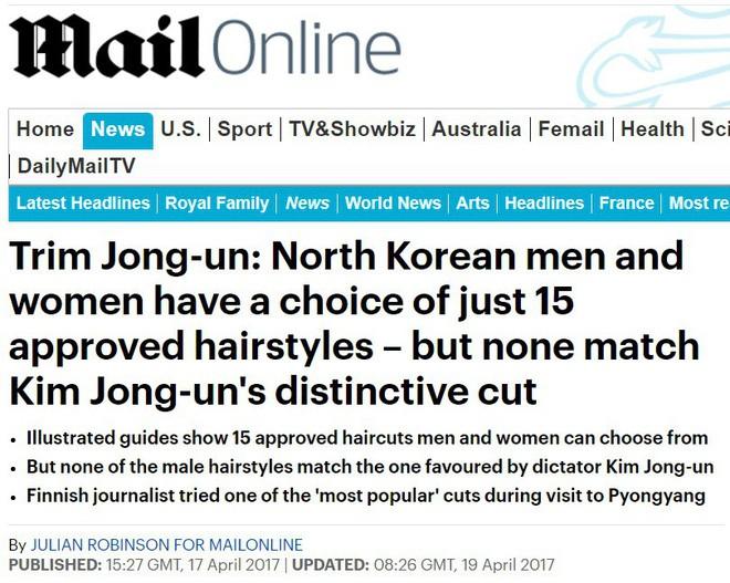 Báo chí nước ngoài từng bất ngờ khi biết phụ nữ và nam giới Triều Tiên làm tóc theo đúng 15 kiểu được quy định 3