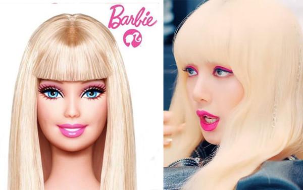 Cô nàng Lisa trong tạo hình mới gợi nhớ đến búp bê Barbie.