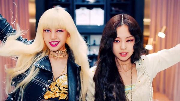 Lisa và Jennie trong MV mới.