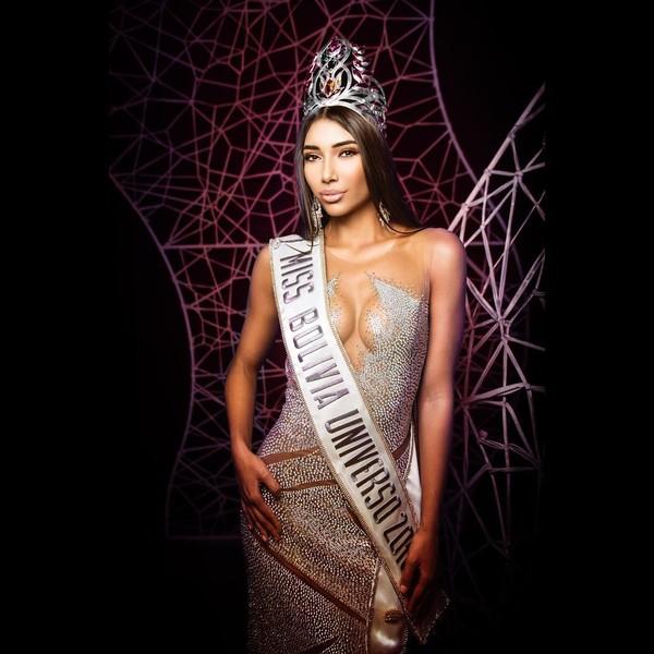 Joyce Prado - Hoa hậu Bolivia 2018.