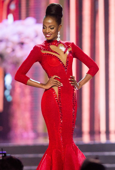 Top 6 Miss Universe 2016 -Mary Esther Were người Kenya.