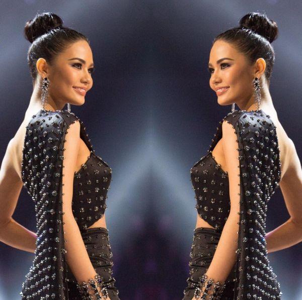 Top 6 Miss Universe 2016 -Chalita Suansane người Thái Lan.