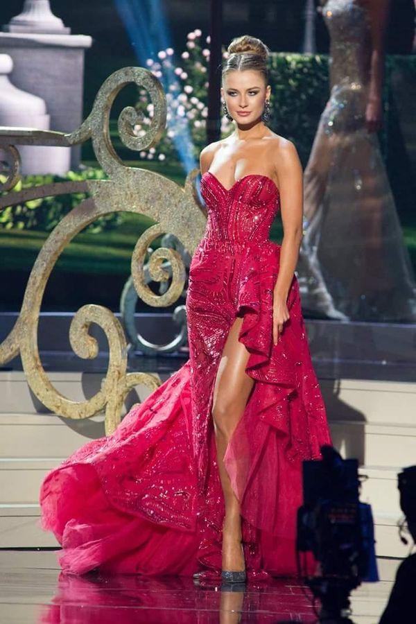 Á hậu 2 Miss Universe 2014 -Diana Harkusha người Ukraine.
