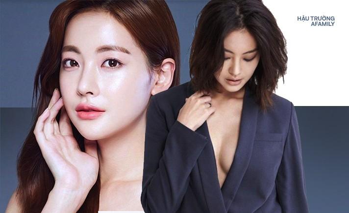 Chân dung 'Tiểu tam tin đồn' xen vào Goo Hye Sun và Ahn Jae Hyun: Mỹ nhân gợi cảm sở hữu vòng 1 nóng bỏng, từng có đoạn tình ái với Kim Bum 0