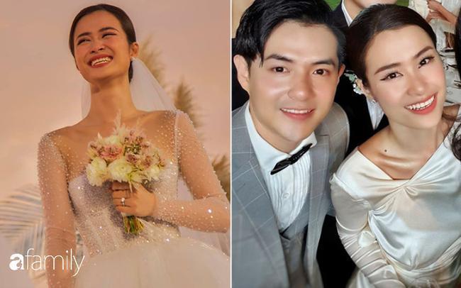 Nhìn Đông Nhi đẹp như công chúa trong ngày cưới...