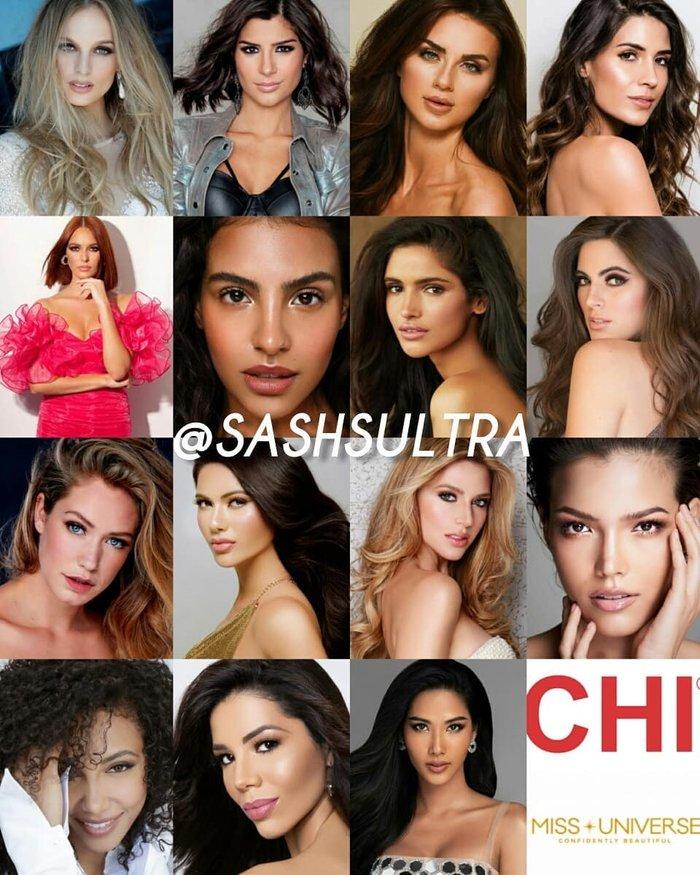 Hoàng Thùy góp mặt trong top 15 máu mặt nhất tại cuộc thi Miss Univese 2019 tham gia chiến dịch quảng cáo về mặt hình ảnh.