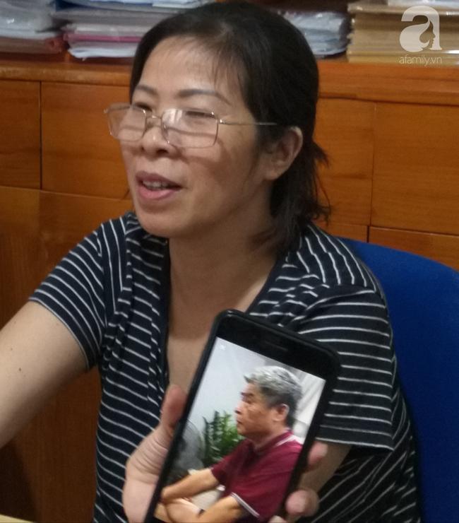 Bà Quy tại một buổi trao đổi với PV tại văn phòng luật sư