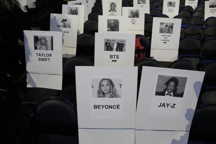 Vị trí chỗ ngồi của Taylor Swift đã bị rò rỉ từ trước.